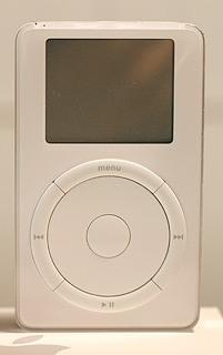 The Original iPod portable mp3 and podcast player
